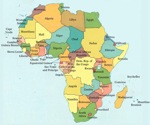Mauritius In Africa Map Map Of Africa