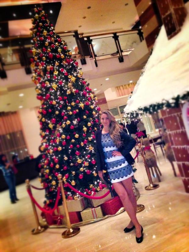Azarenka Christmas