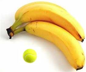 Tennis banana