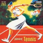 Tennis Wall Calendar 2013 B