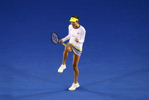 Anna Ivanovic at the Australian Open